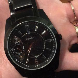 Fossil Twist Men's Watch in black